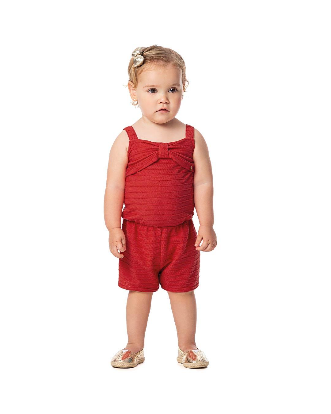 Macaquinho Bebê/Infantil Delicate - Alenice