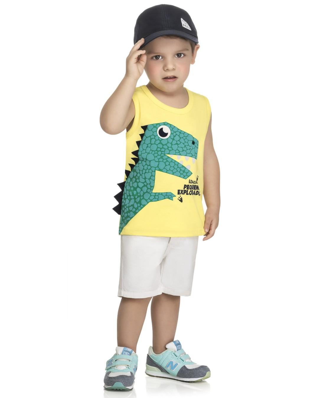 Regata Bebê Dino - Kely & Kety