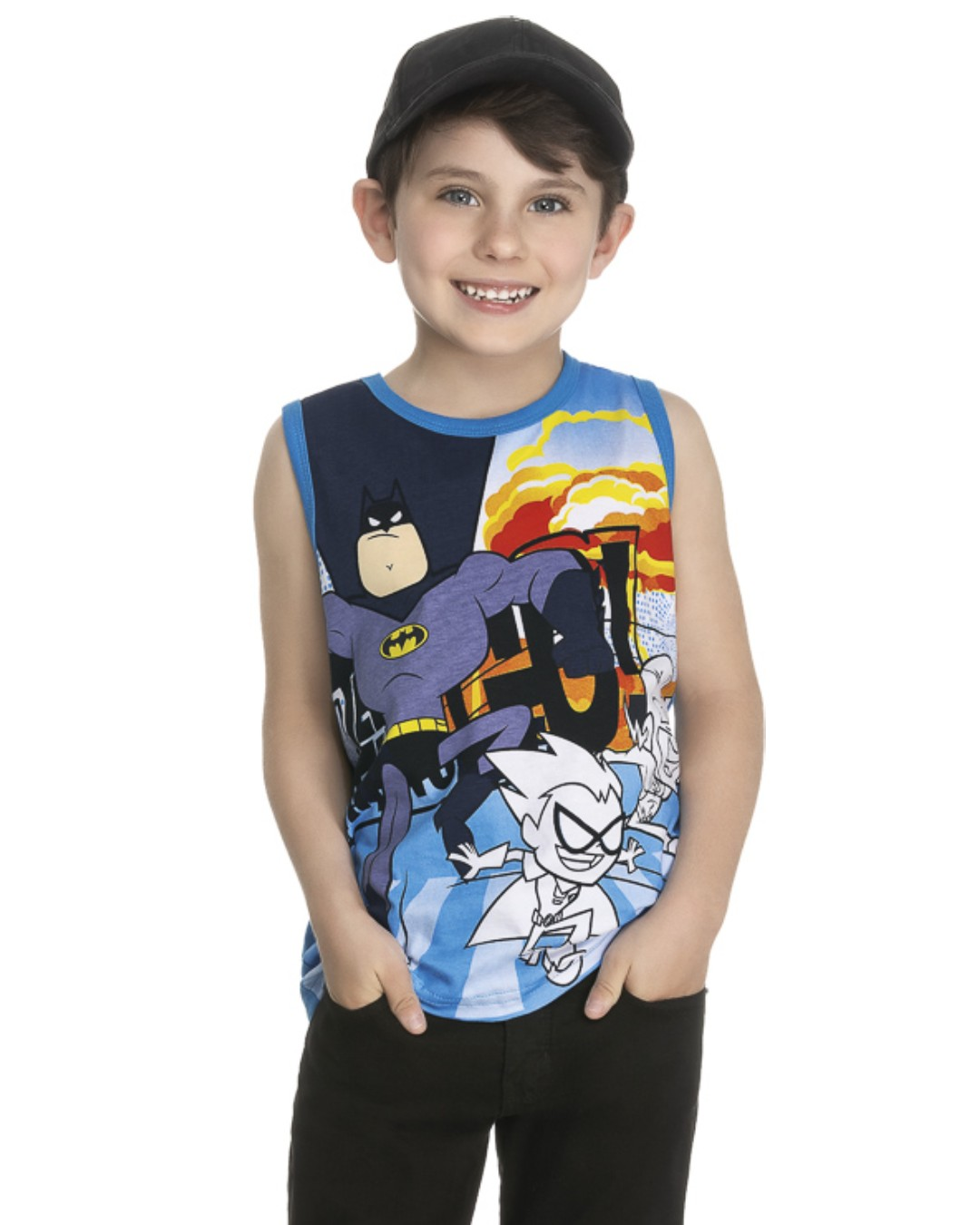 Regata Infantil Super-Herói Batman - WRK