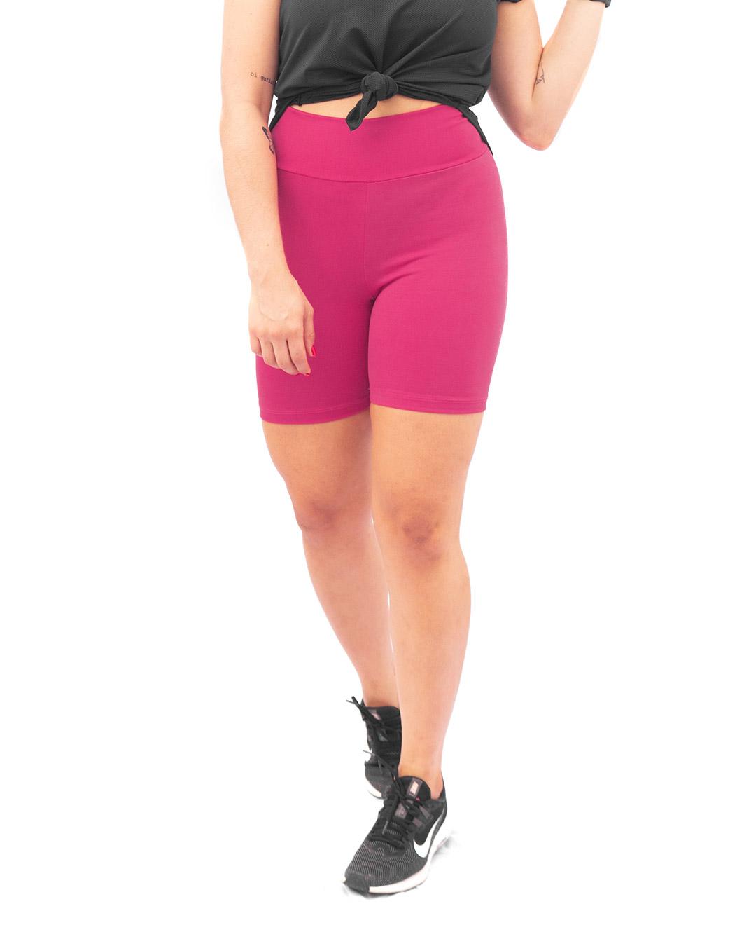 Shorts Fitness Básico Cintura Alta - Movimente-se