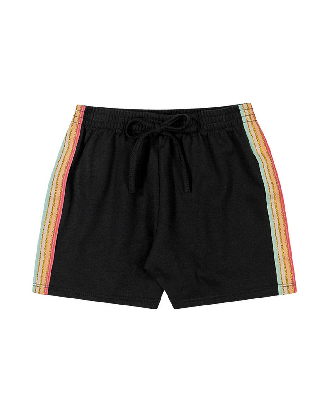 Shorts Infantil Com Glitter - Kely & Kety