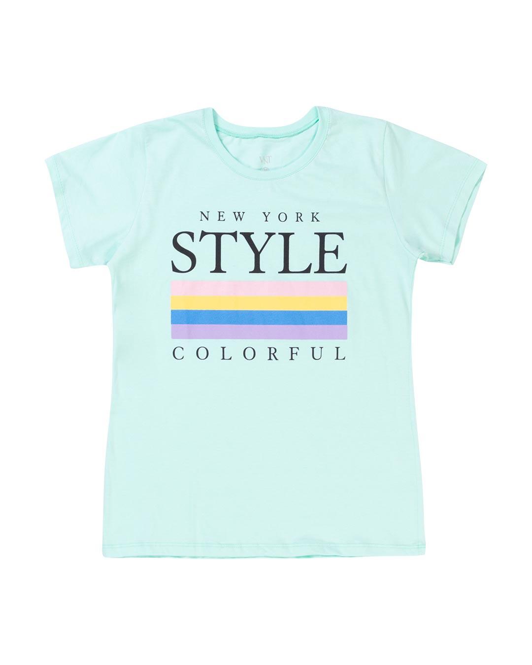 T-Shirt Adulta e Plus Size new York Style - Santa Margô