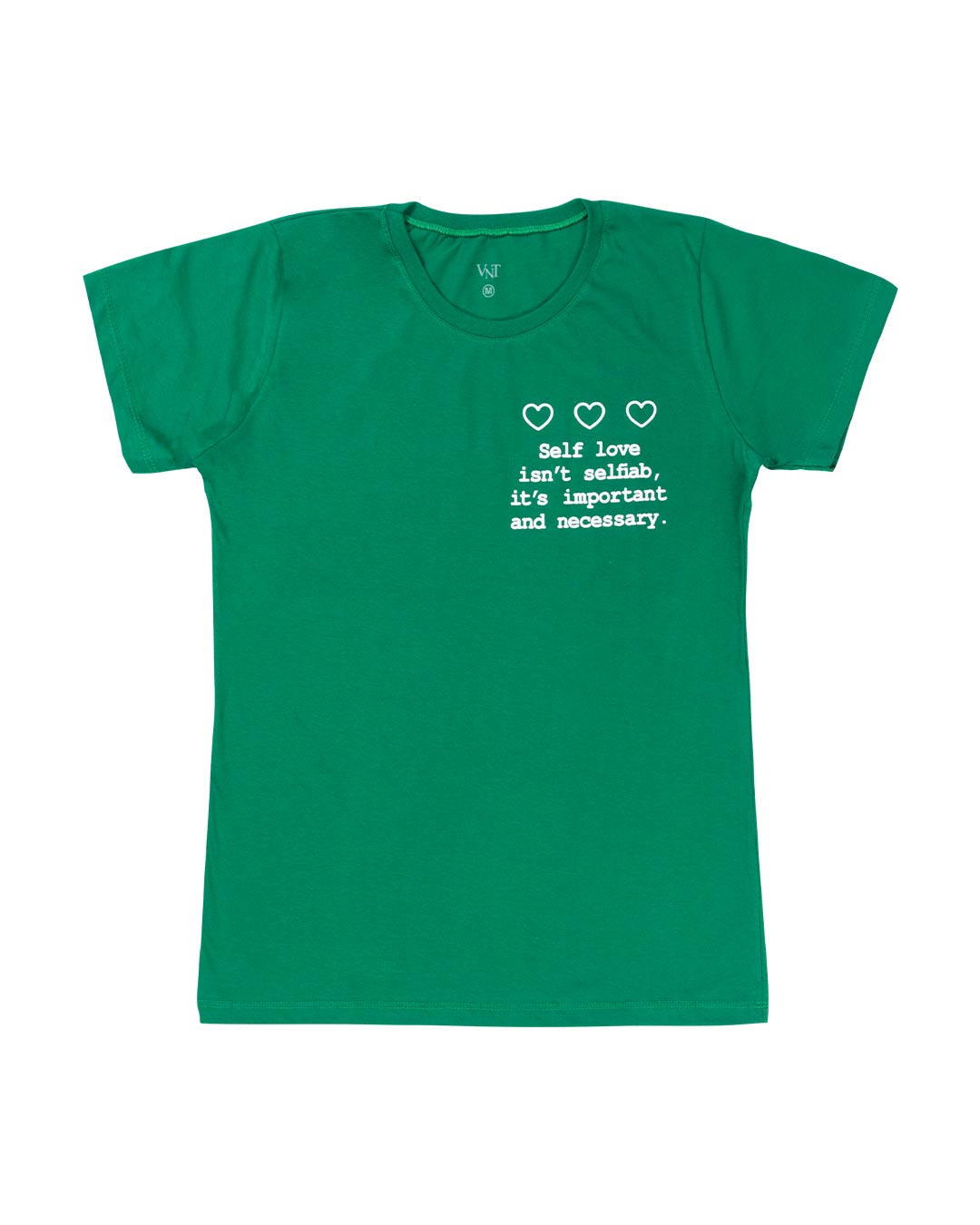 T-Shirt Adulta e Plus Size Self Love - Santa Margô