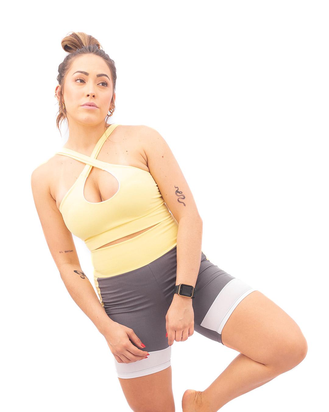 Top Fitness Transpassado sem Bojo - Movimente-se