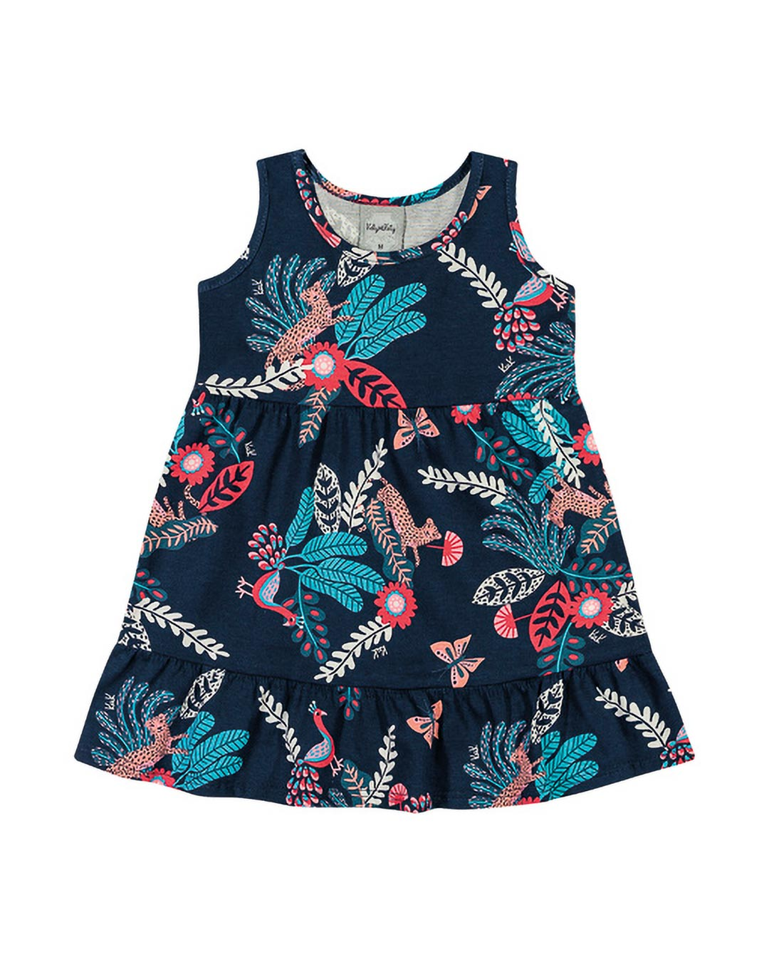 Vestido Bebê e Infantil Floral - Kely & Kety