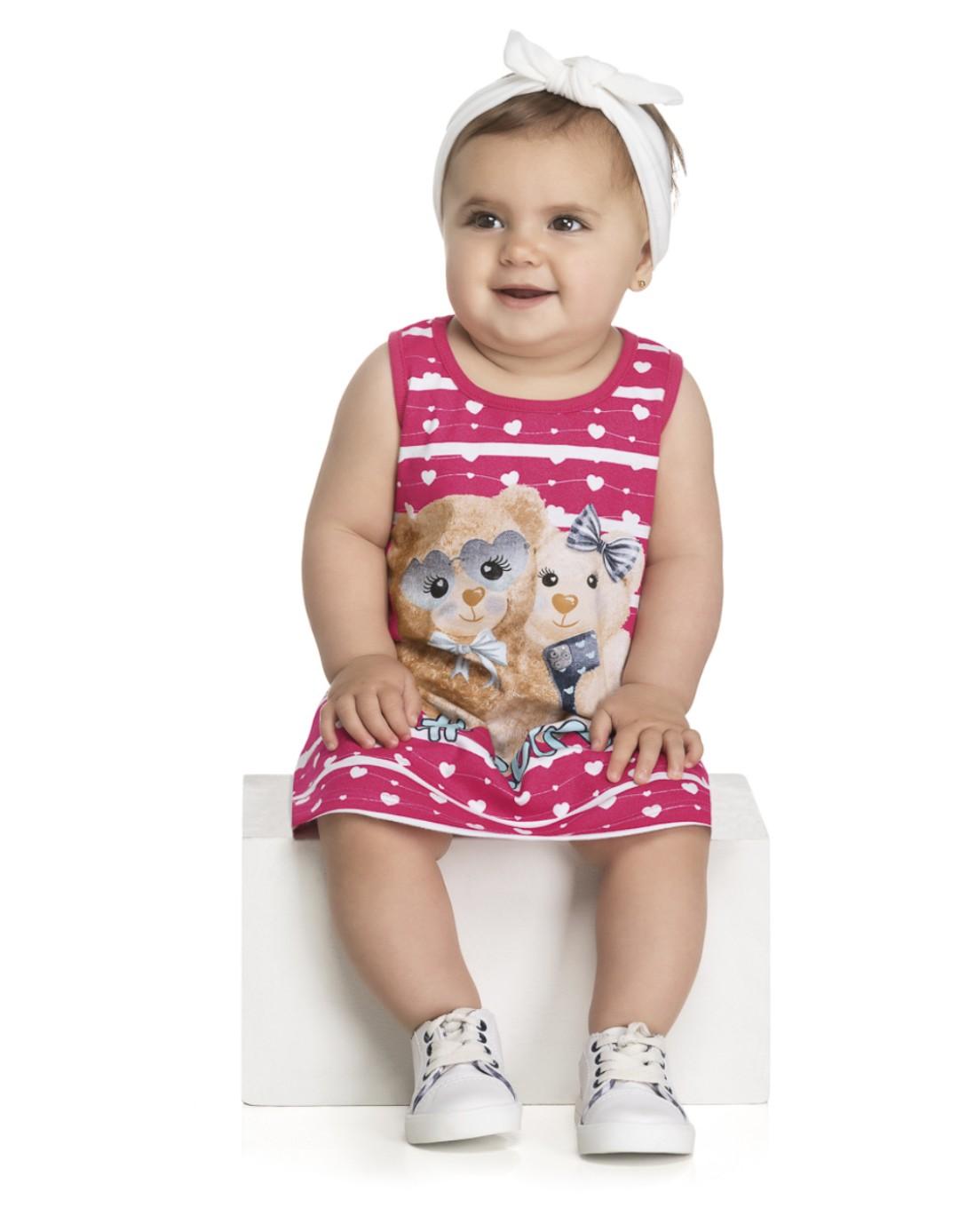 Vestido Bebê e Infantil #Selfie - Kely & Kety