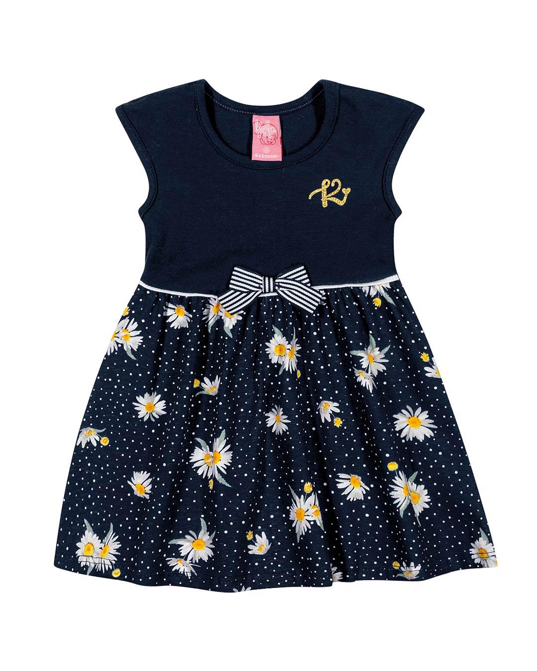 Vestido Bebê Flores - Lecimar