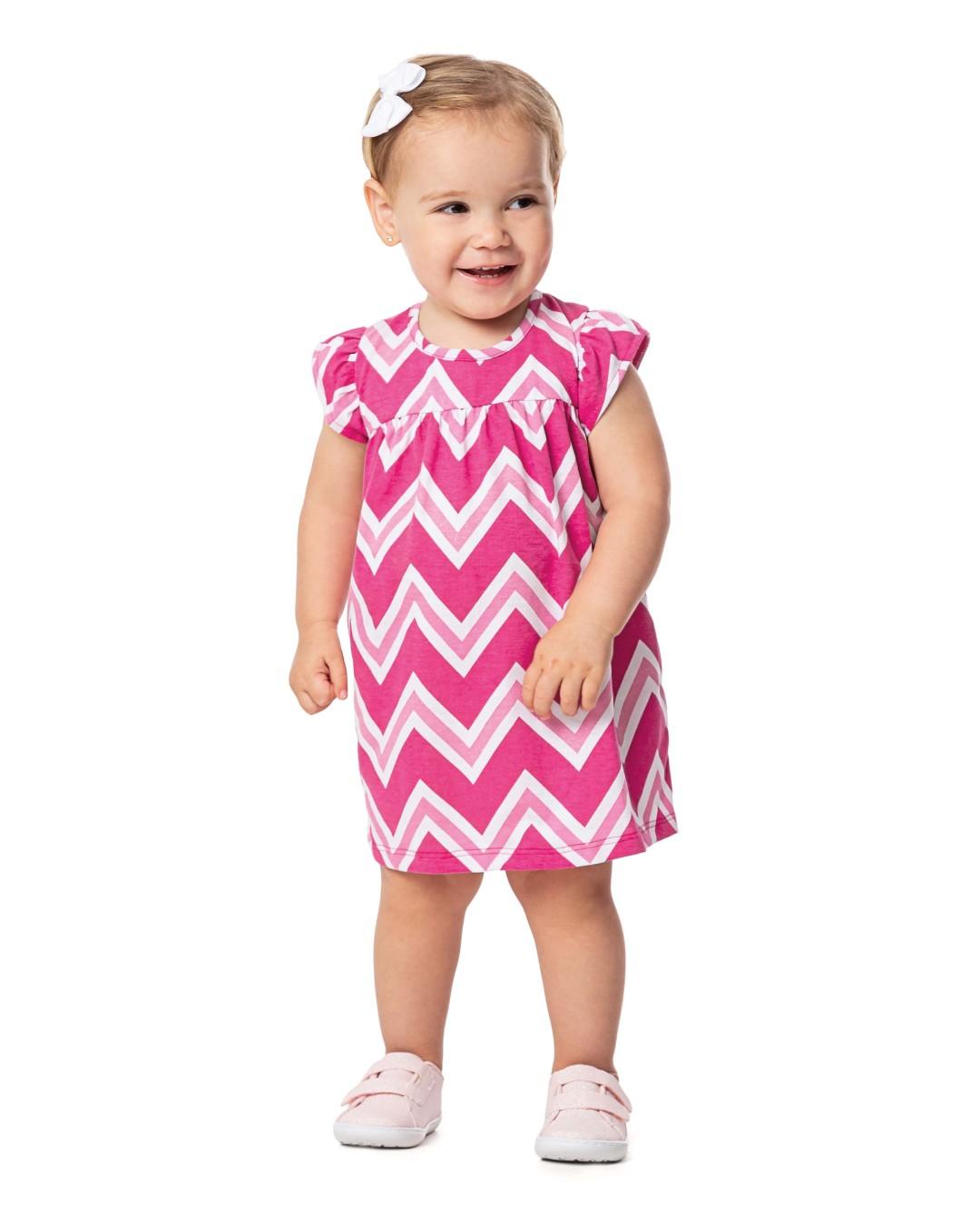 Vestido Bebê Listrado - Alenice