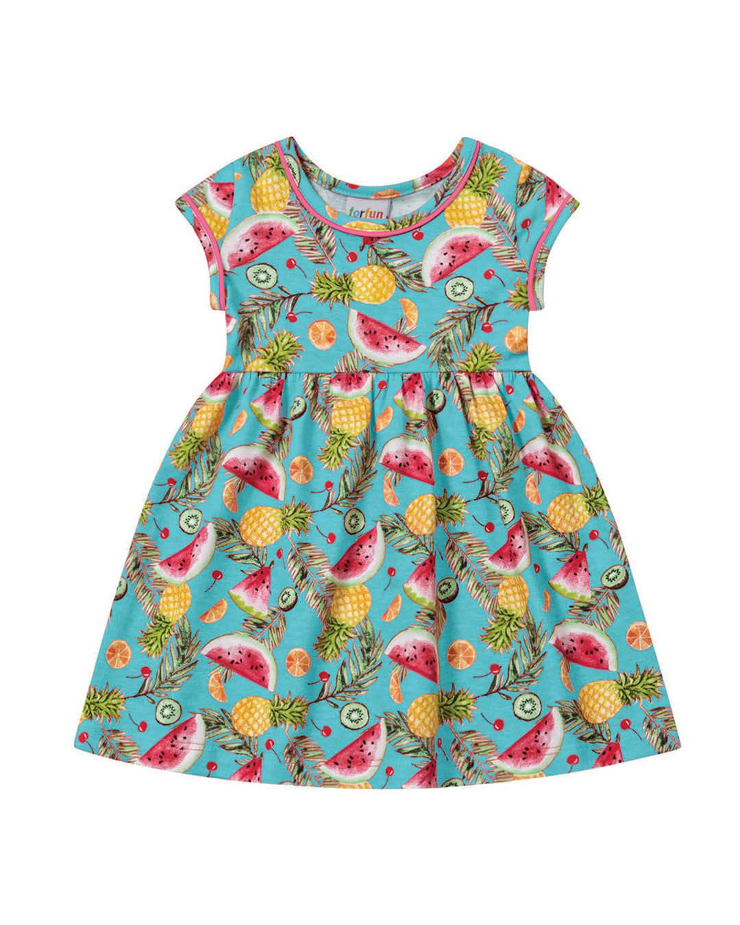 Vestido Bebê Melancias  - For Fun