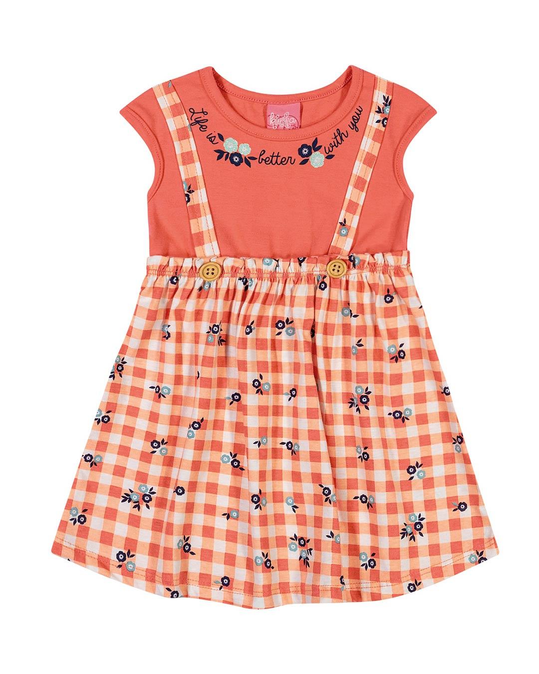 Vestido Bebê Xadrez - Lecimar