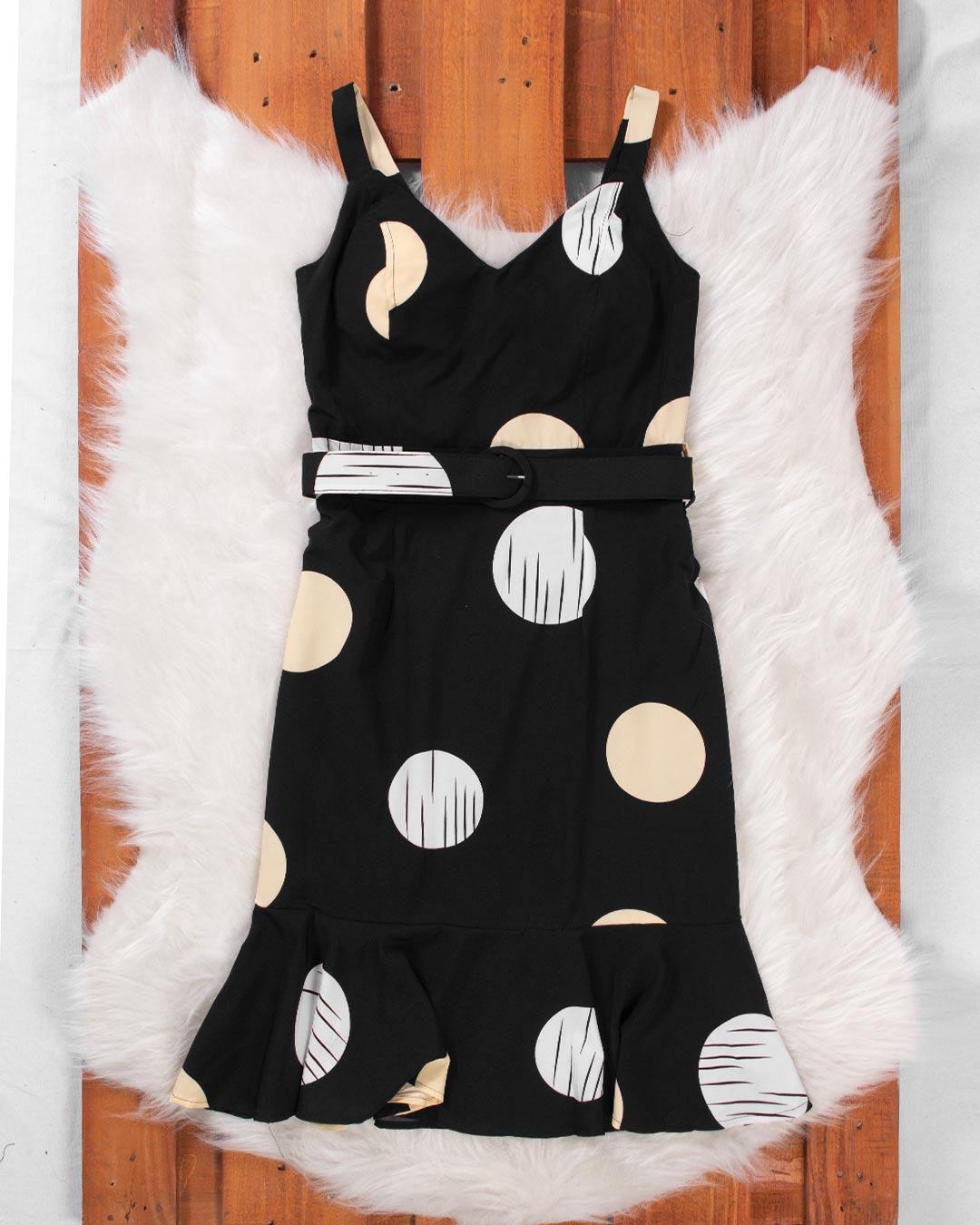 Vestido Curto Com Forração - Jacksnipe