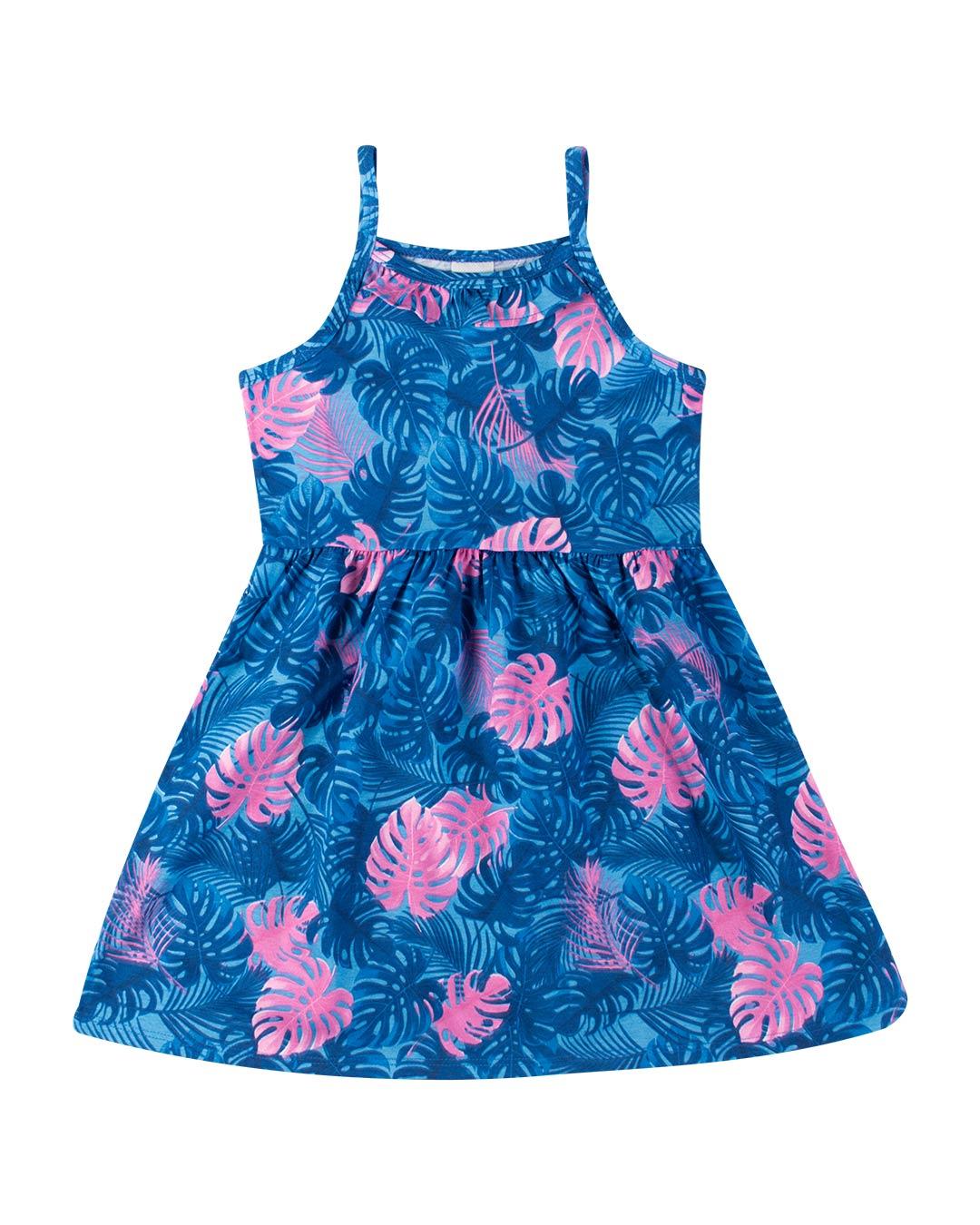 Vestido Infantil Estampa Variada - Alenice