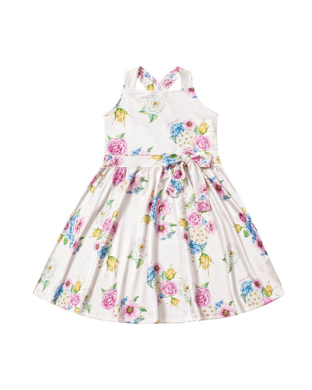 Vestido Infantil Flores - Playground