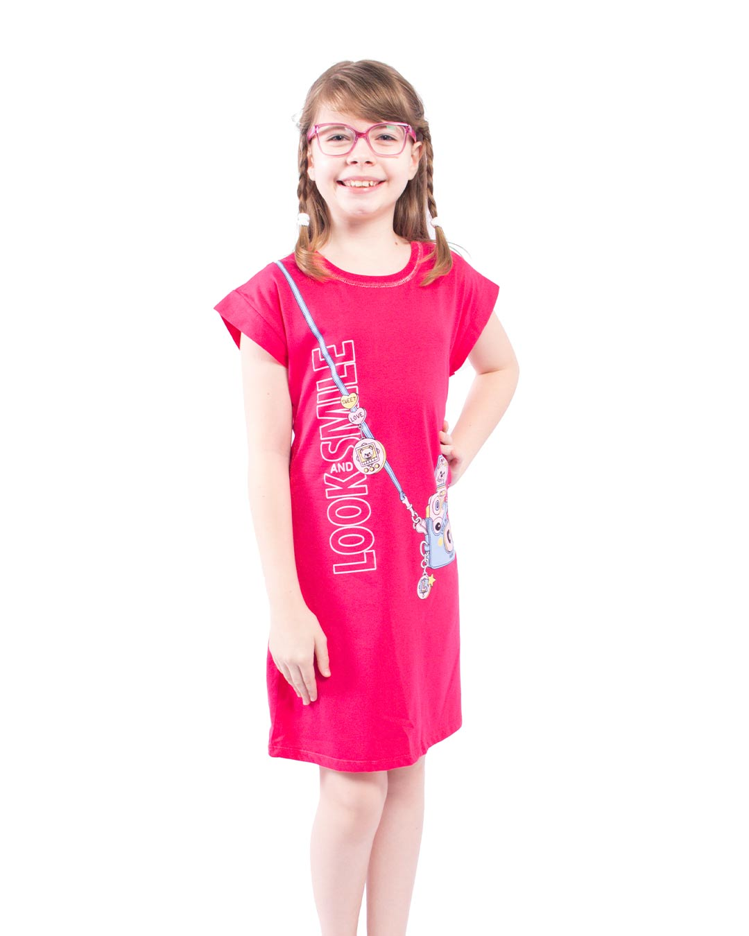 Vestido Infantil Look and Smile - Lecimar