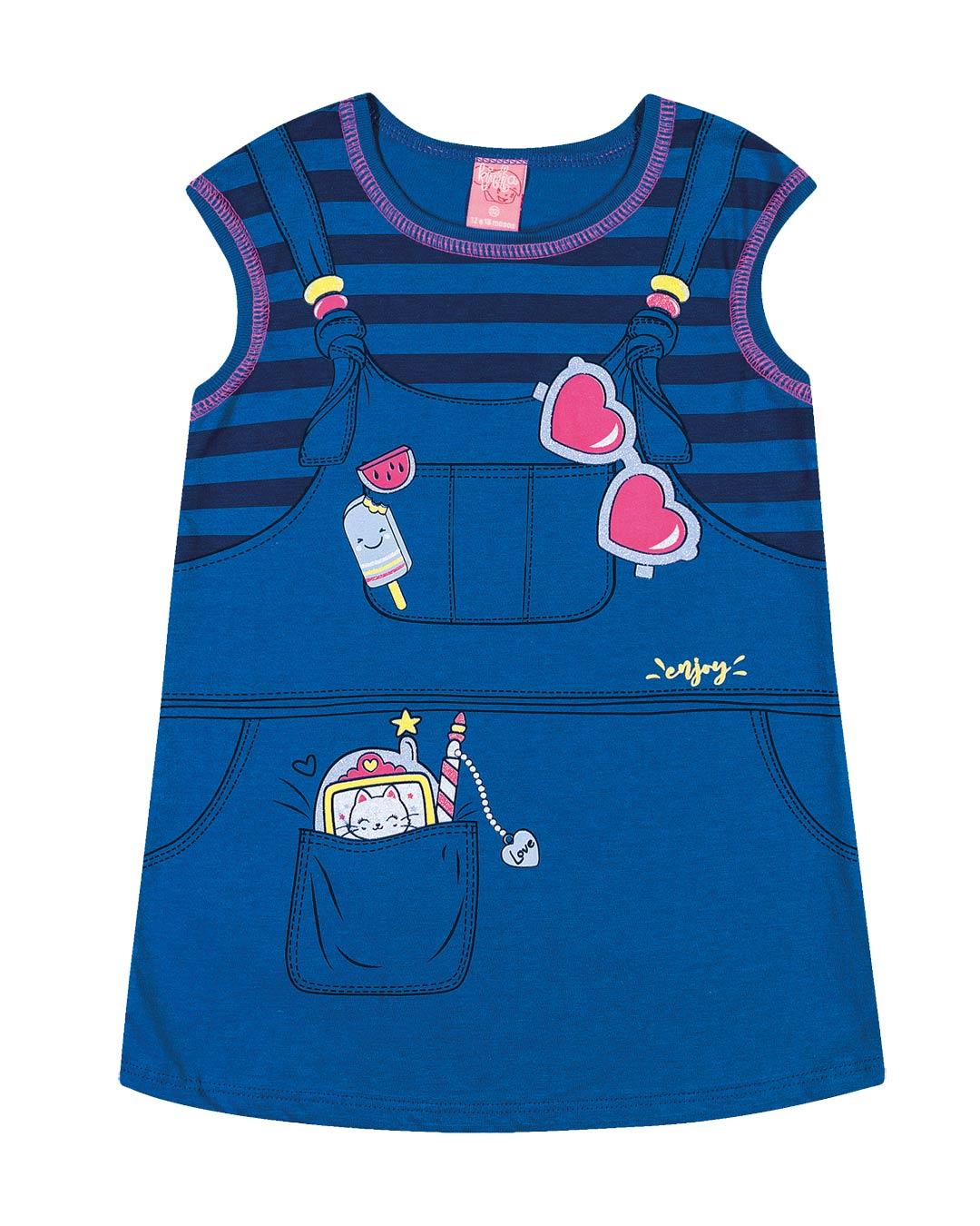 Vestido Infantil Picolé - Lecimar