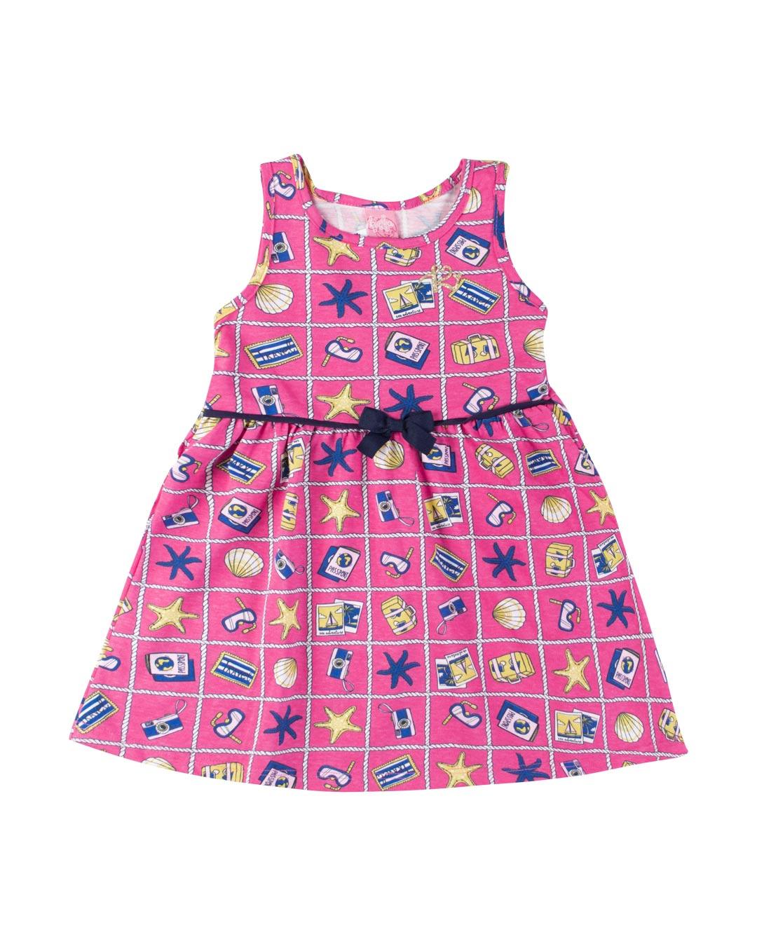 Vestido Infantil Travel - Lecimar
