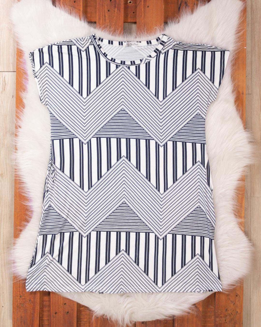 Vestido Plus Size Com Bolso Frontal - Moça Bonita