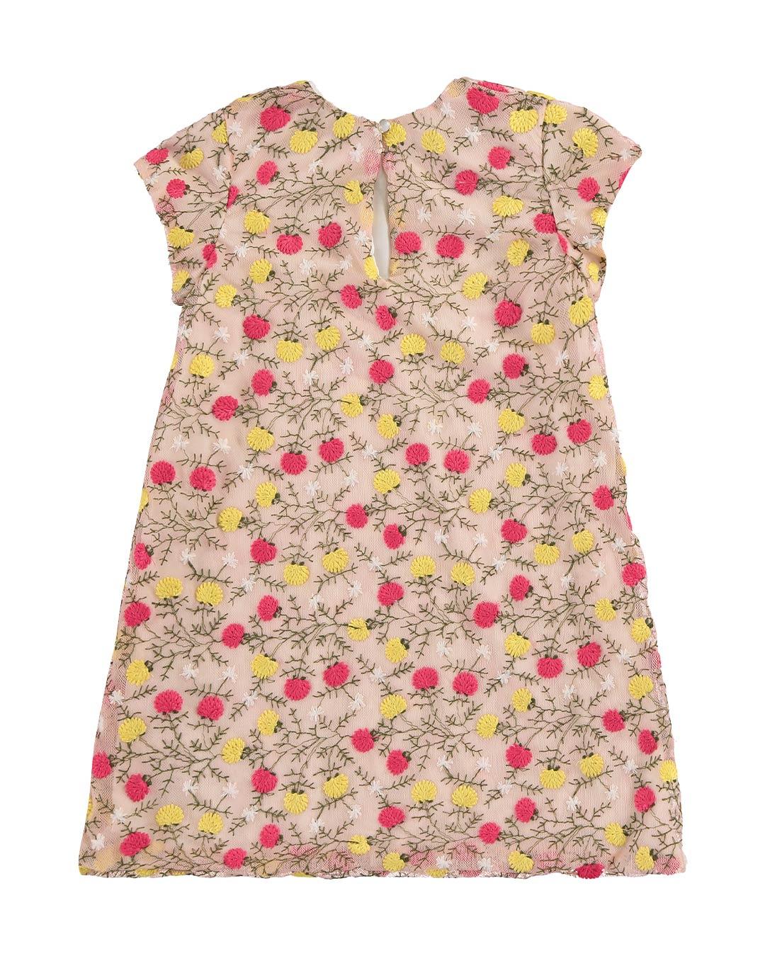 Vestido Tule Rosa Claro - Alenice