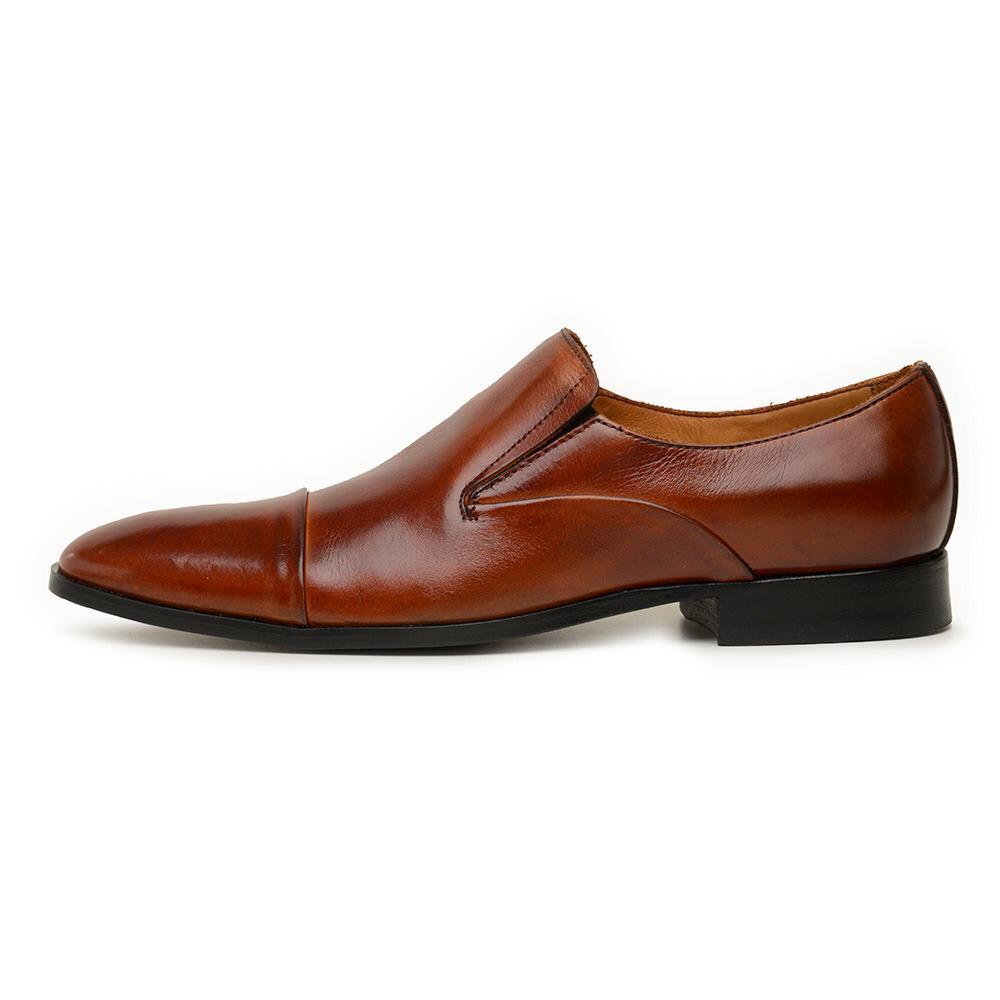 Sapato Masculino Linha Exclusive 017 Marrom