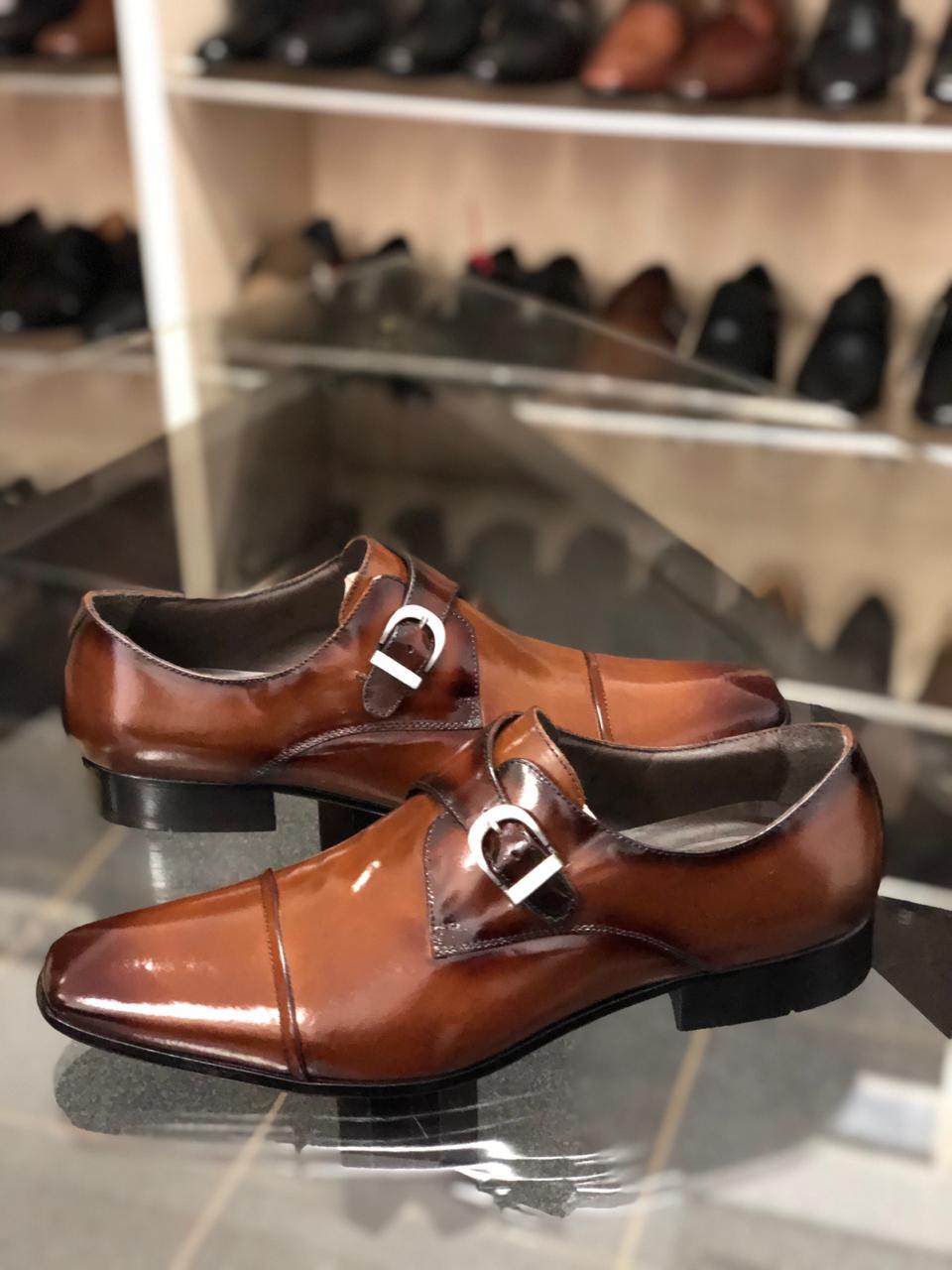 Sapato Masculino Linha Exclusive LD0067 Marrom