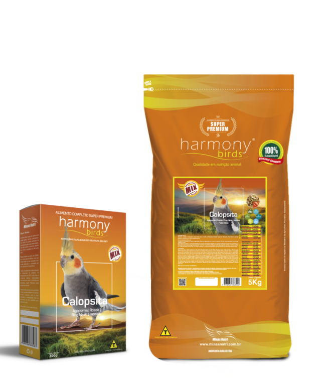 Harmony Birds Calopsita Mix