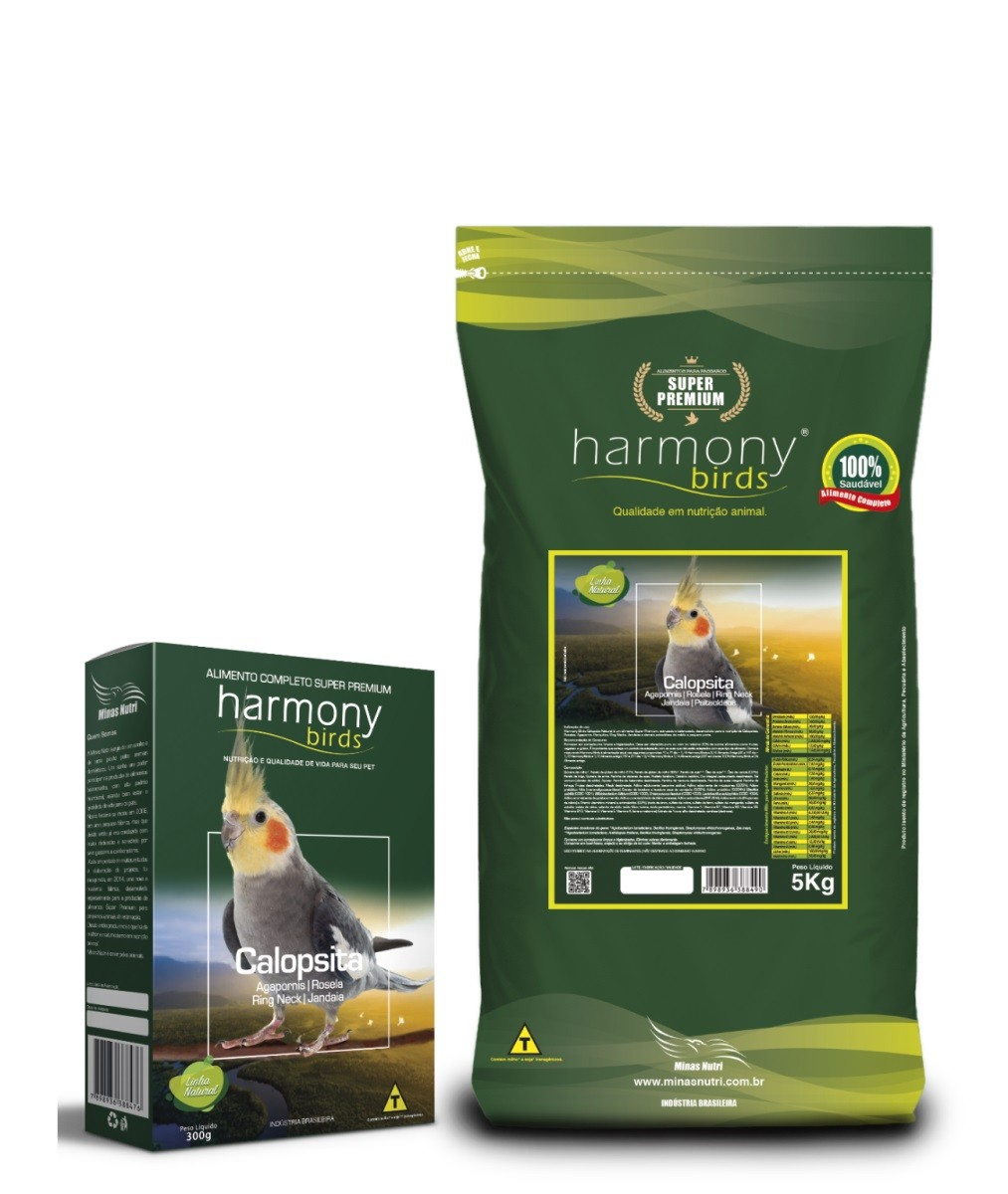 Harmony Birds Calopsita Natural