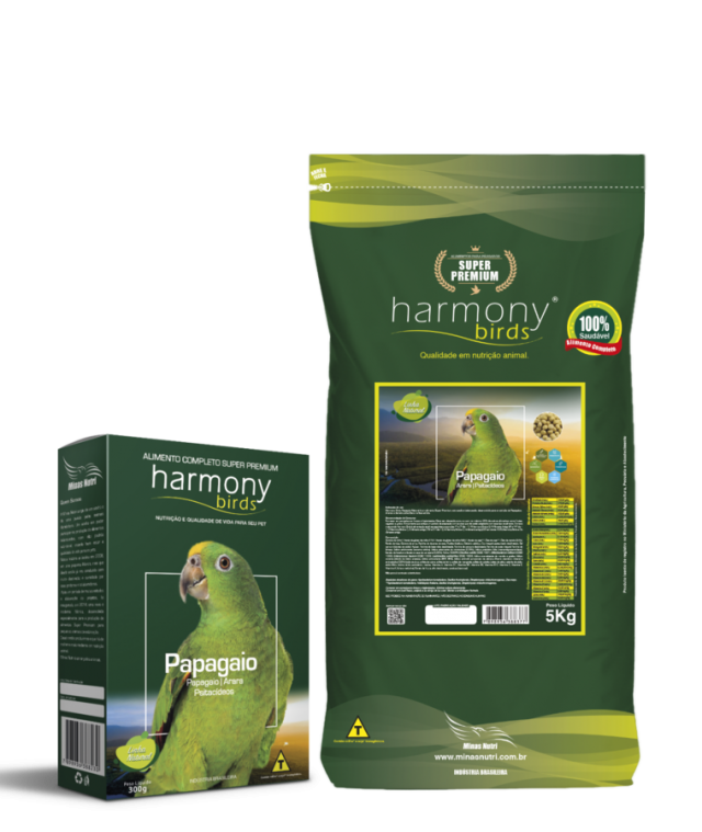 Harmony Birds Papagaio Natural