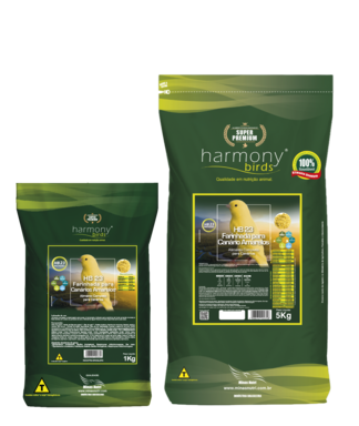 HB 23 Yellow Nutrititon Farinhada para Canários Amarelos