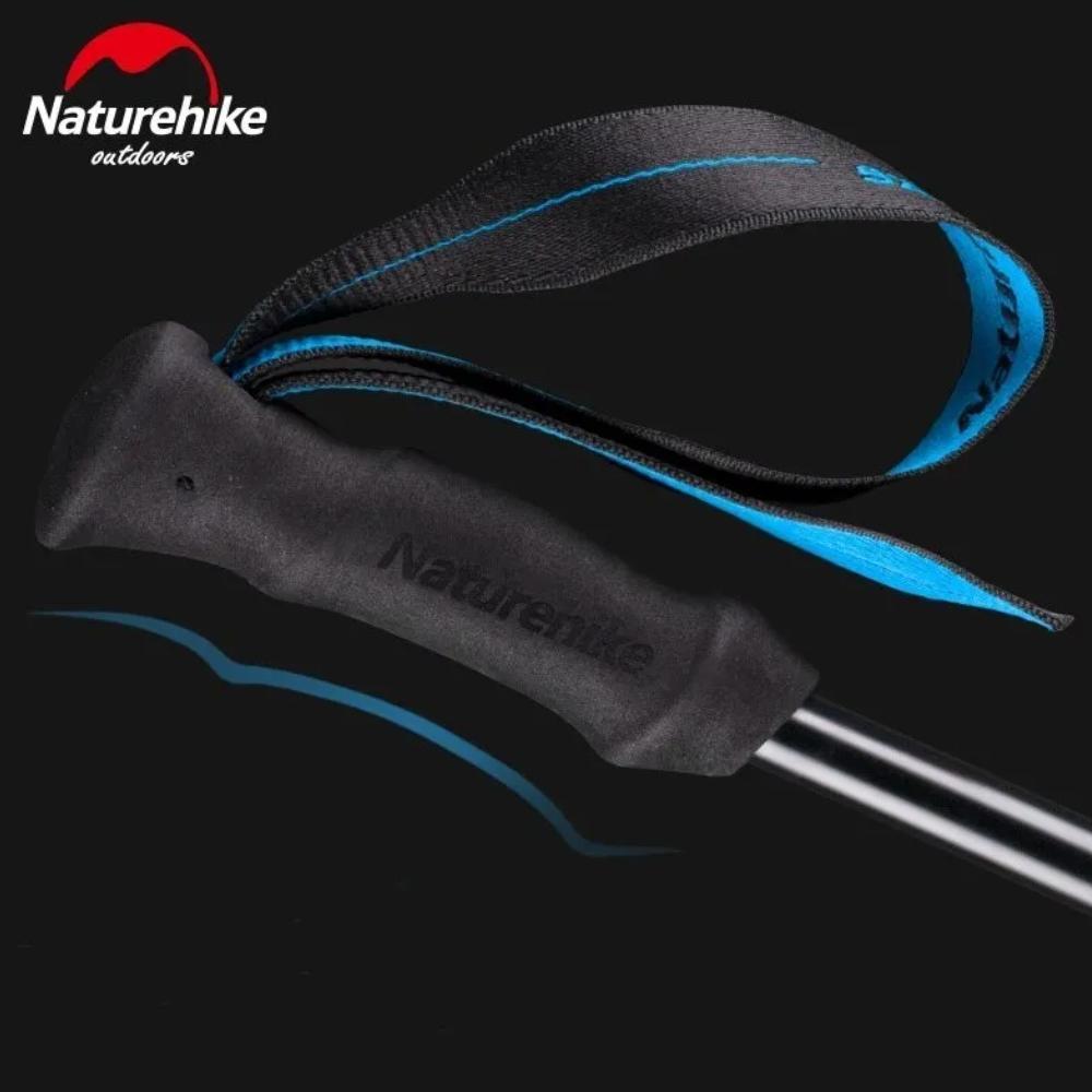 Bastão de Caminhada Naturehike Ultralight T6 Azul