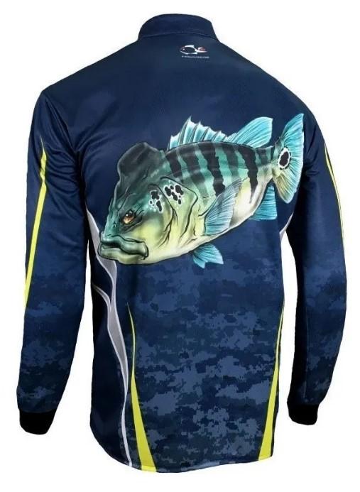 Camiseta Faca na rede CS20 Tucuna azul