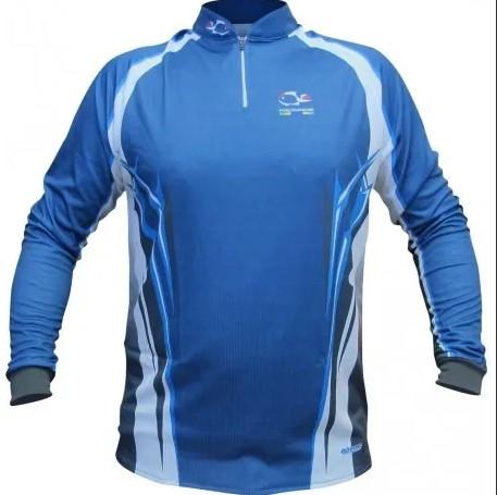 Camiseta Faca na rede Evo azul especial