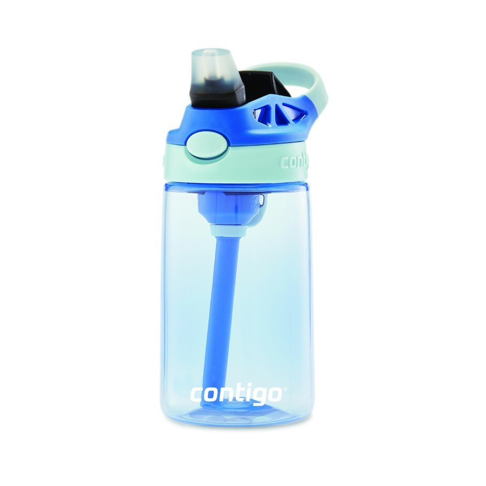 Garrafa Contigo Squeeze Infantil Autospout azul