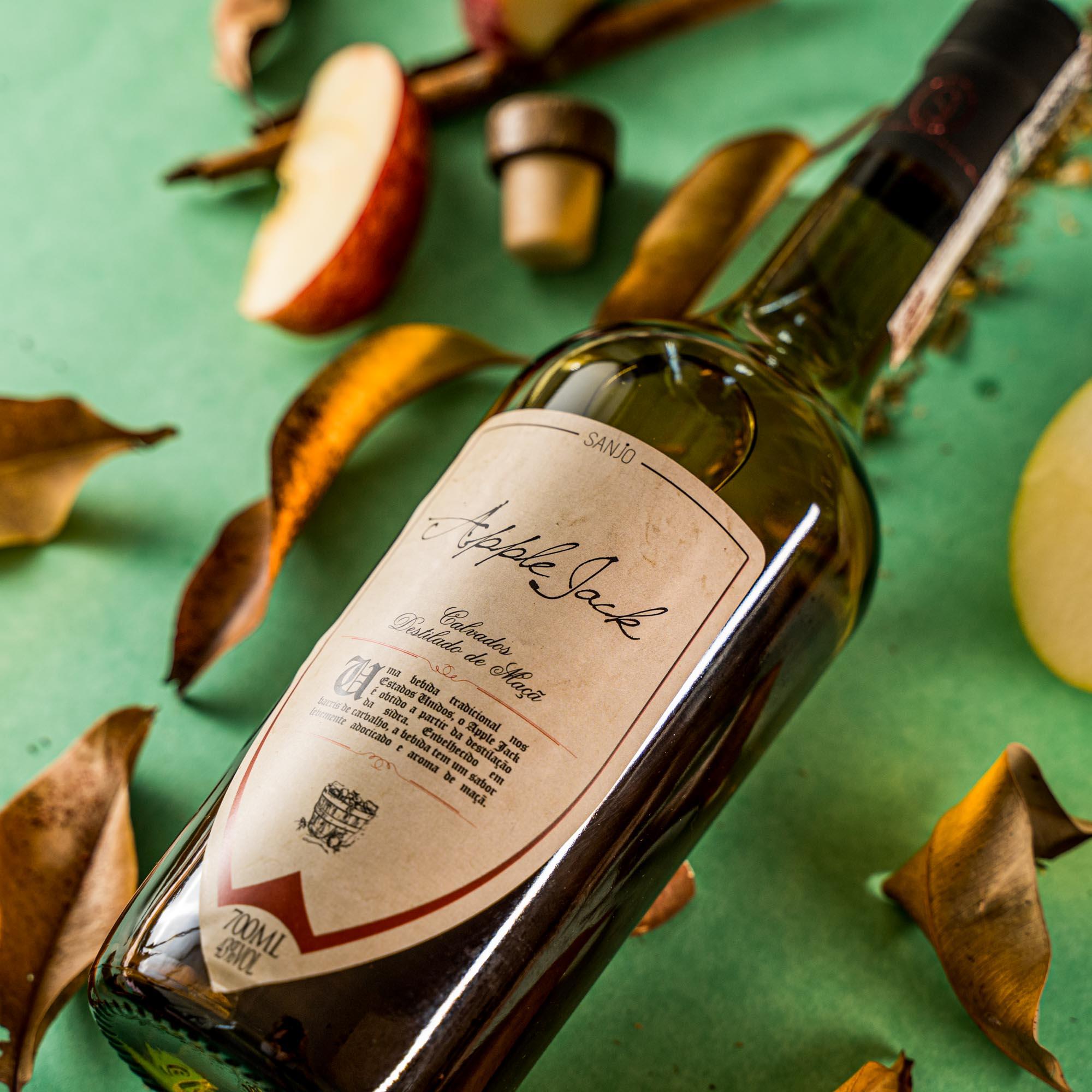 Apple Jack - Calvados - Destilado de maçã artesanal - Vinícola Sanjo