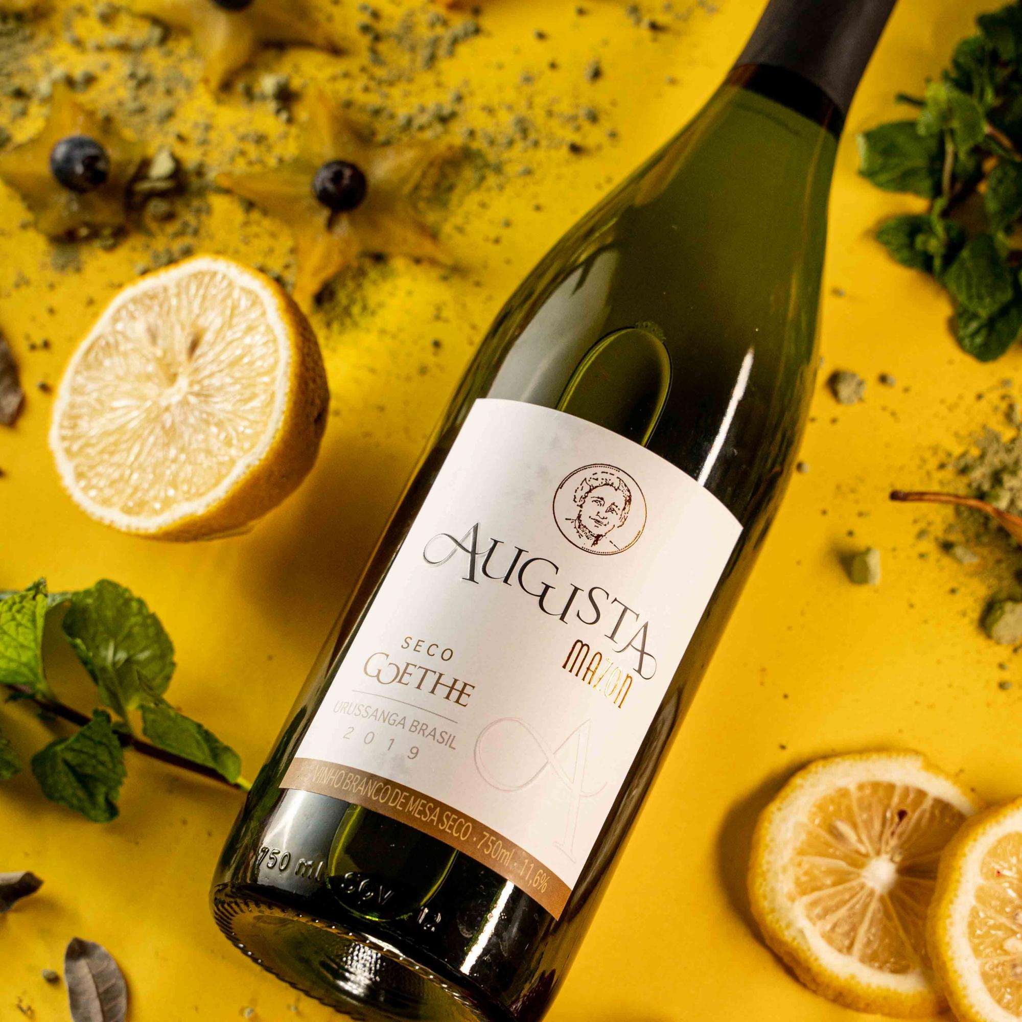 Vinho Branco Augusta - Uva Goethe - Vinícola Vigna Mazon