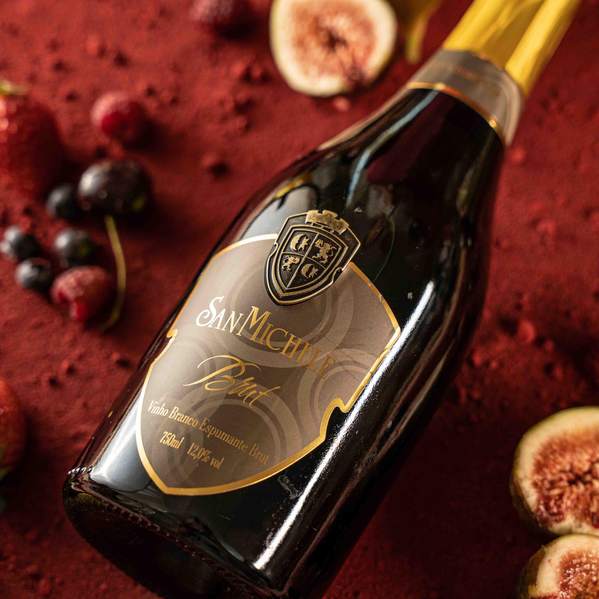 Espumante Brut 48 meses Champenoise - Vinícola San Michele