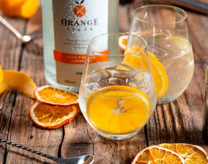 Licor artesanal de laranja Orange - Schluck