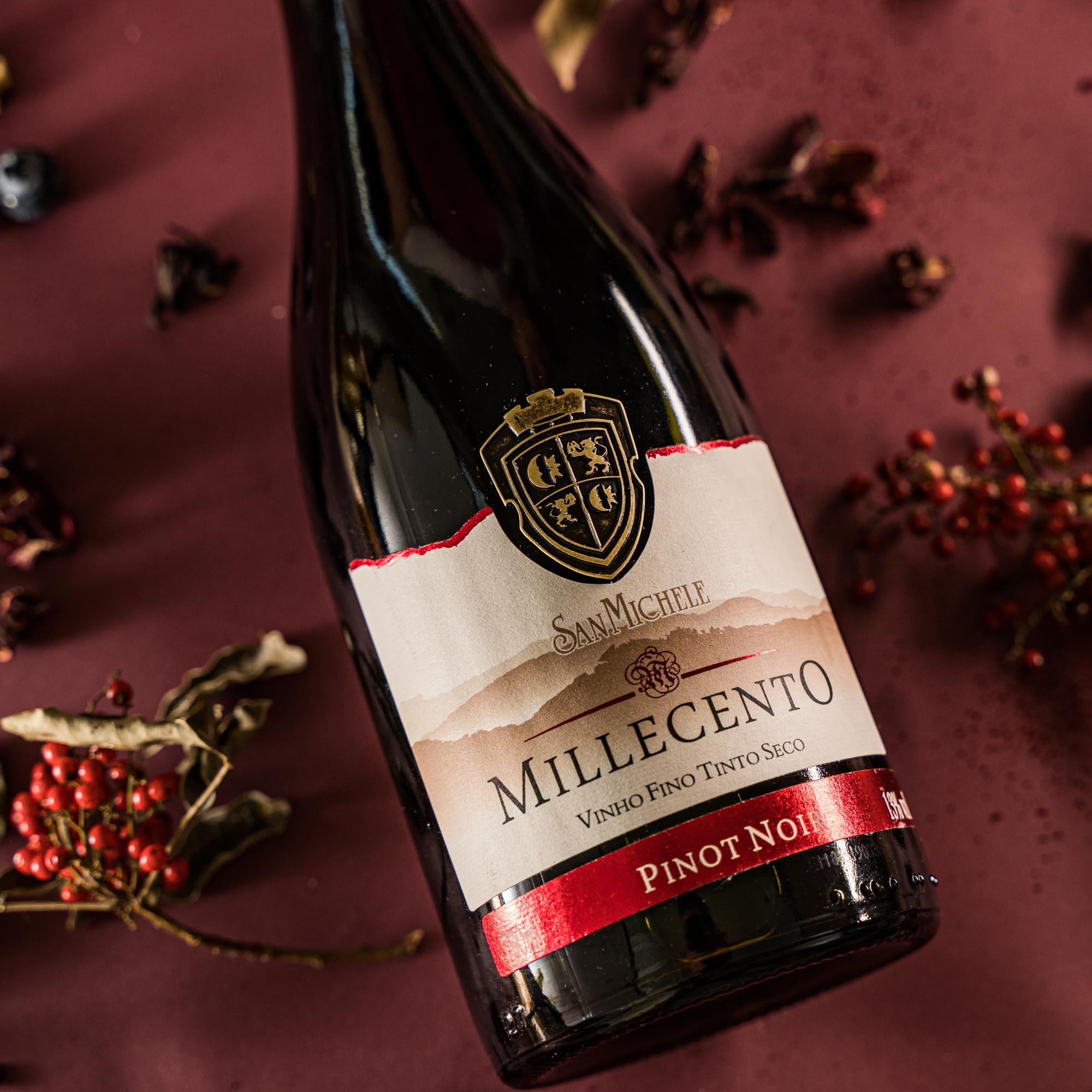Vinho Tinto Millecento - Pinot Noir 2019 - Vinícola San Michele