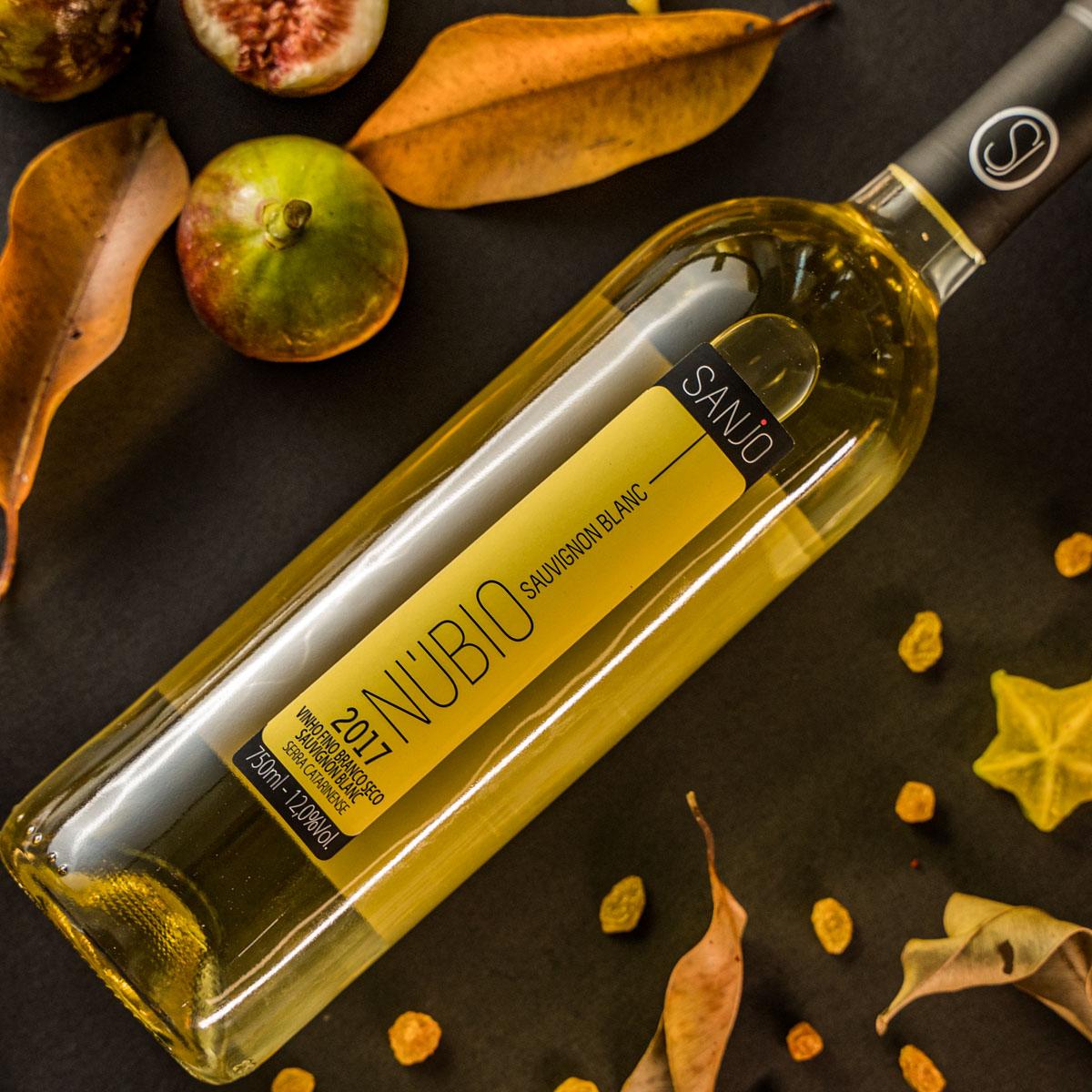 Vinho Branco Núbio - Sauvignon Blanc 2019 - Vinícola Sanjo