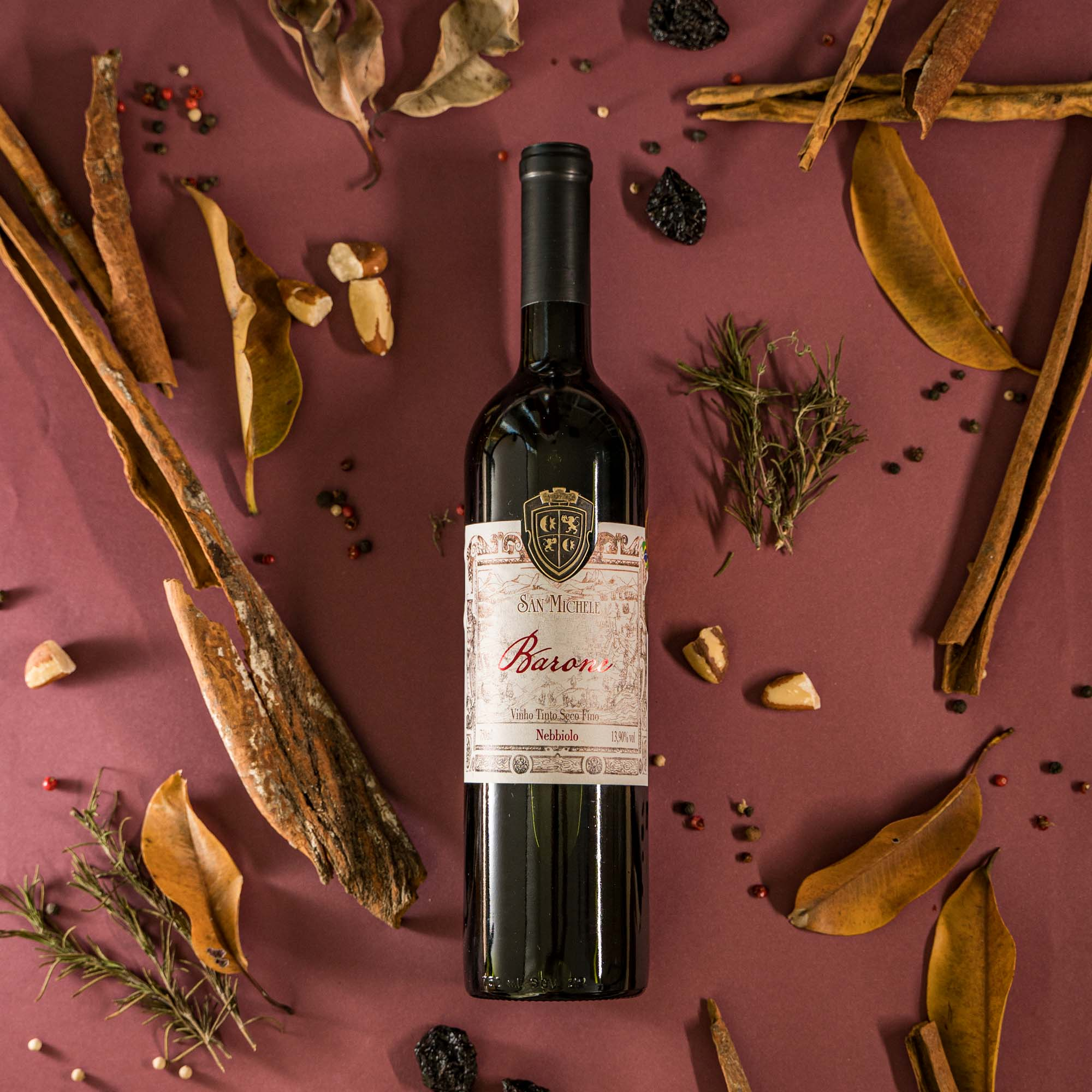 Vinho Tinto Barone - Nebbiolo - Vinícola San Michele