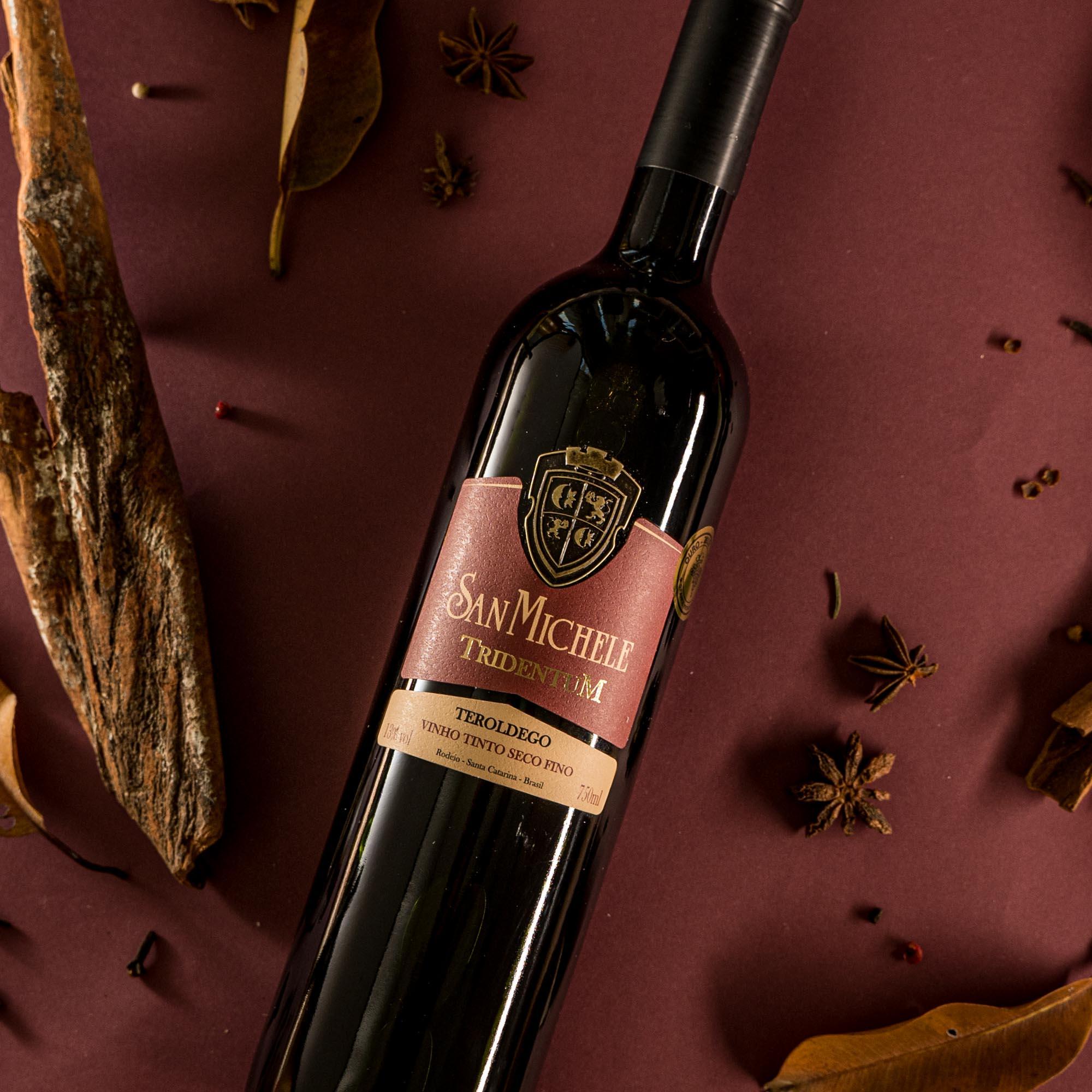 Vinho Tinto Tridentum - Teroldego 2019 - Vinícola San Michele