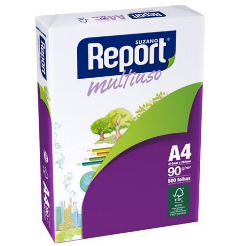 Papel A4 report premium 90g resm