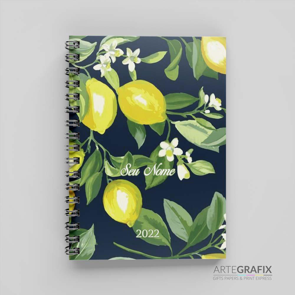 Agenda 2022  - Limão Siciliano Verde