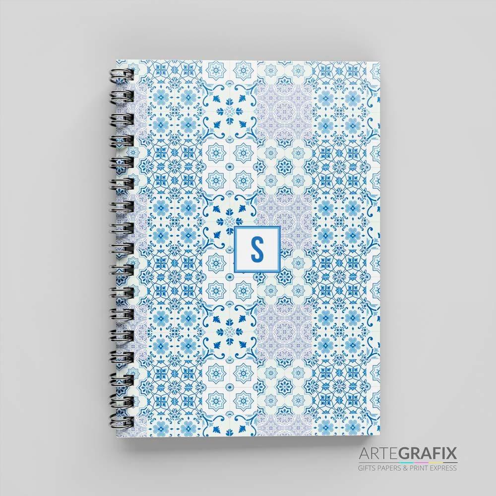 Caderno Pequeno Abstrato