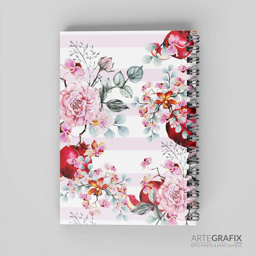 Caderno Pequeno Frutas