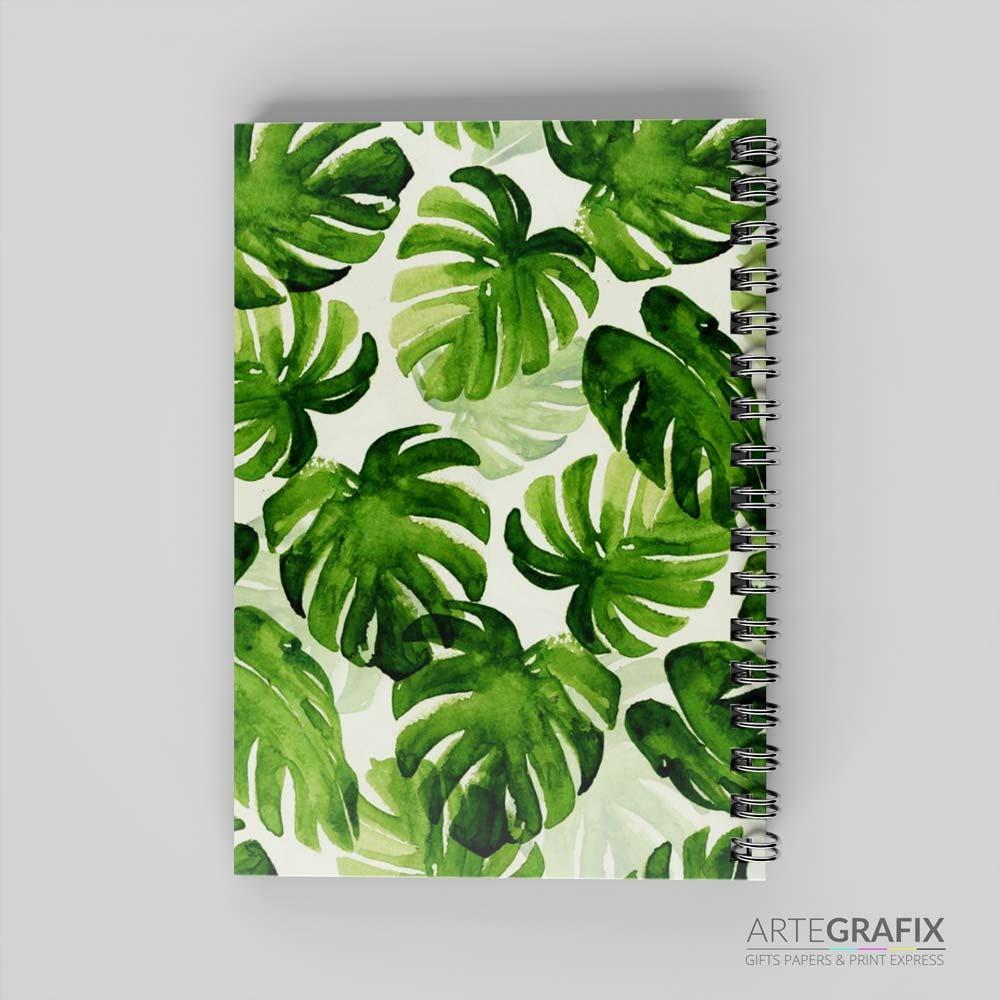 Caderno Pequeno Tropical