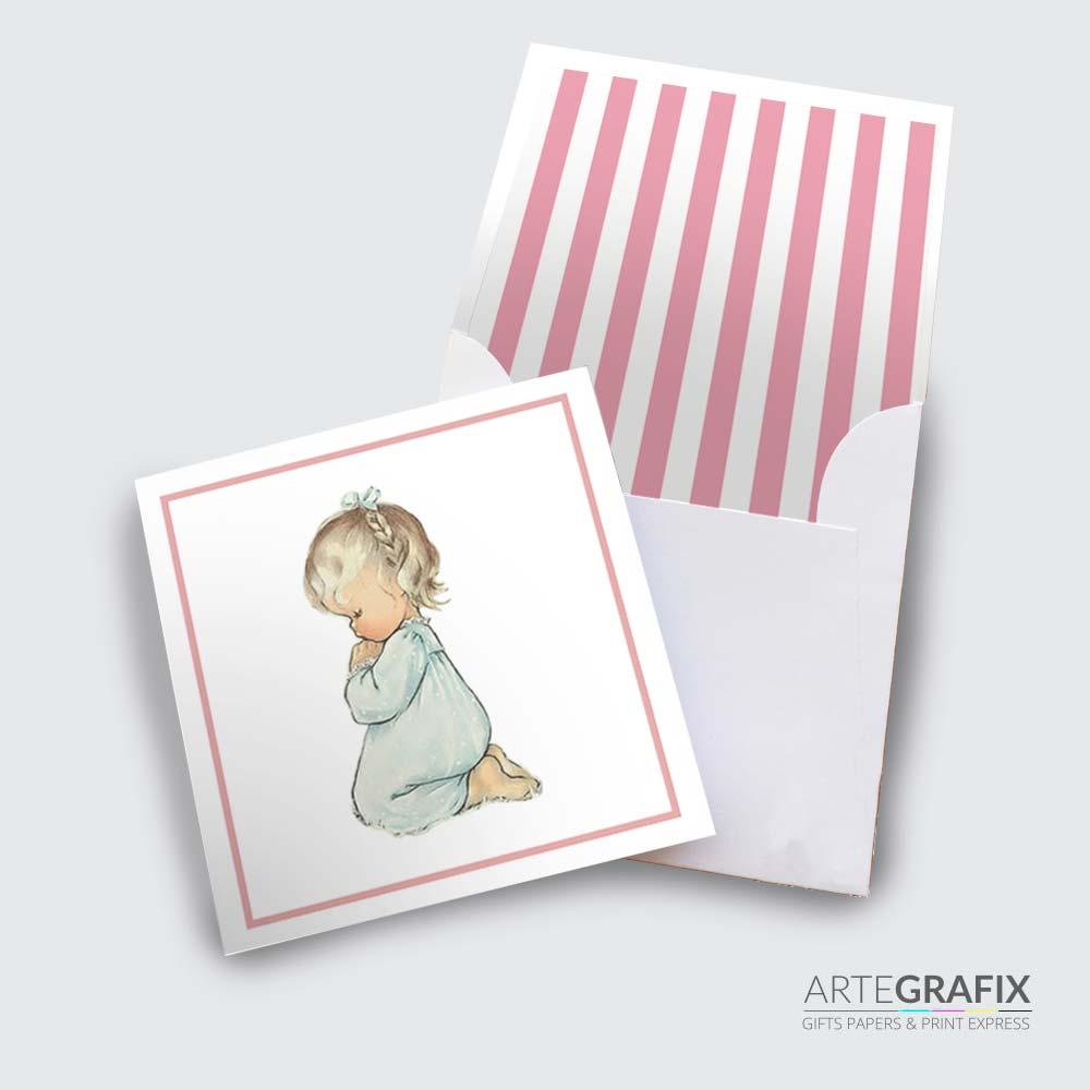 Cartão Social Infantil - Crianças