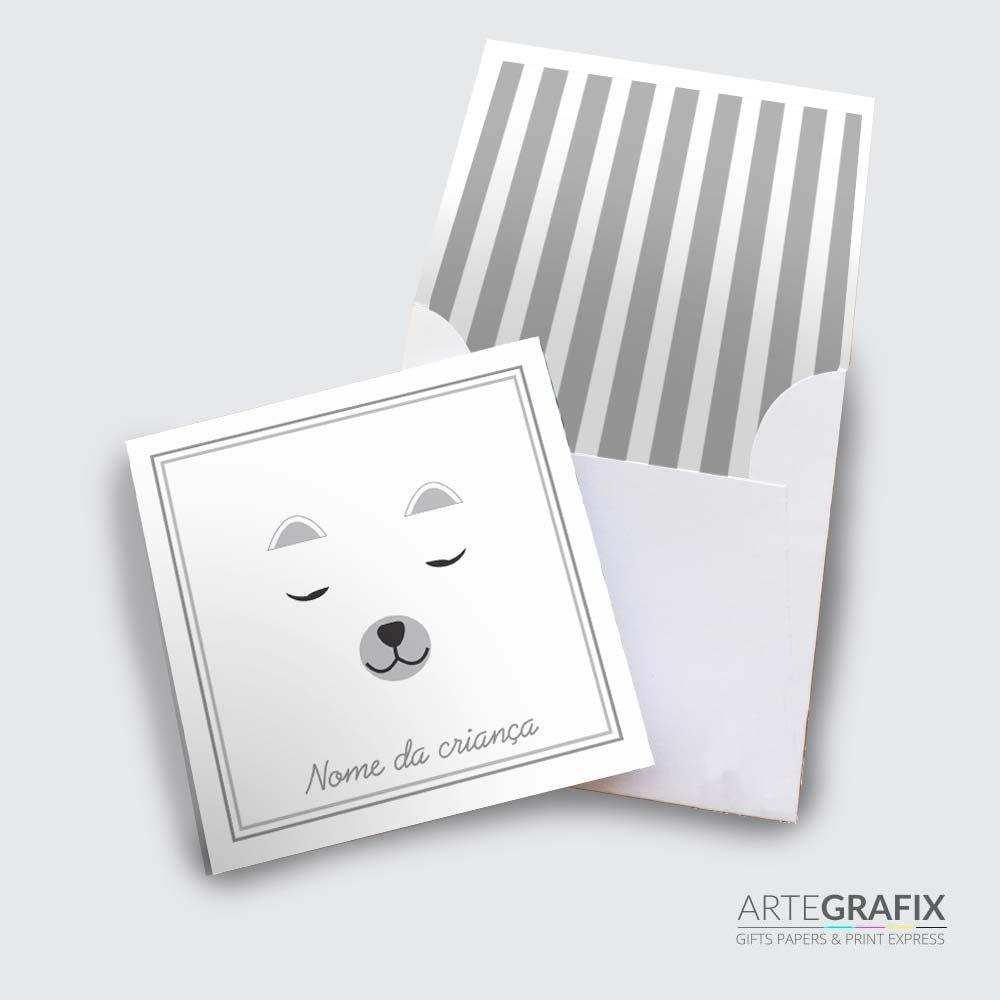Cartão Social Infantil - Animais