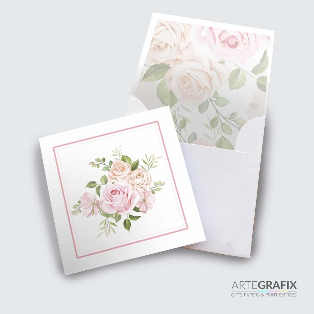 Cartão Social Rosas
