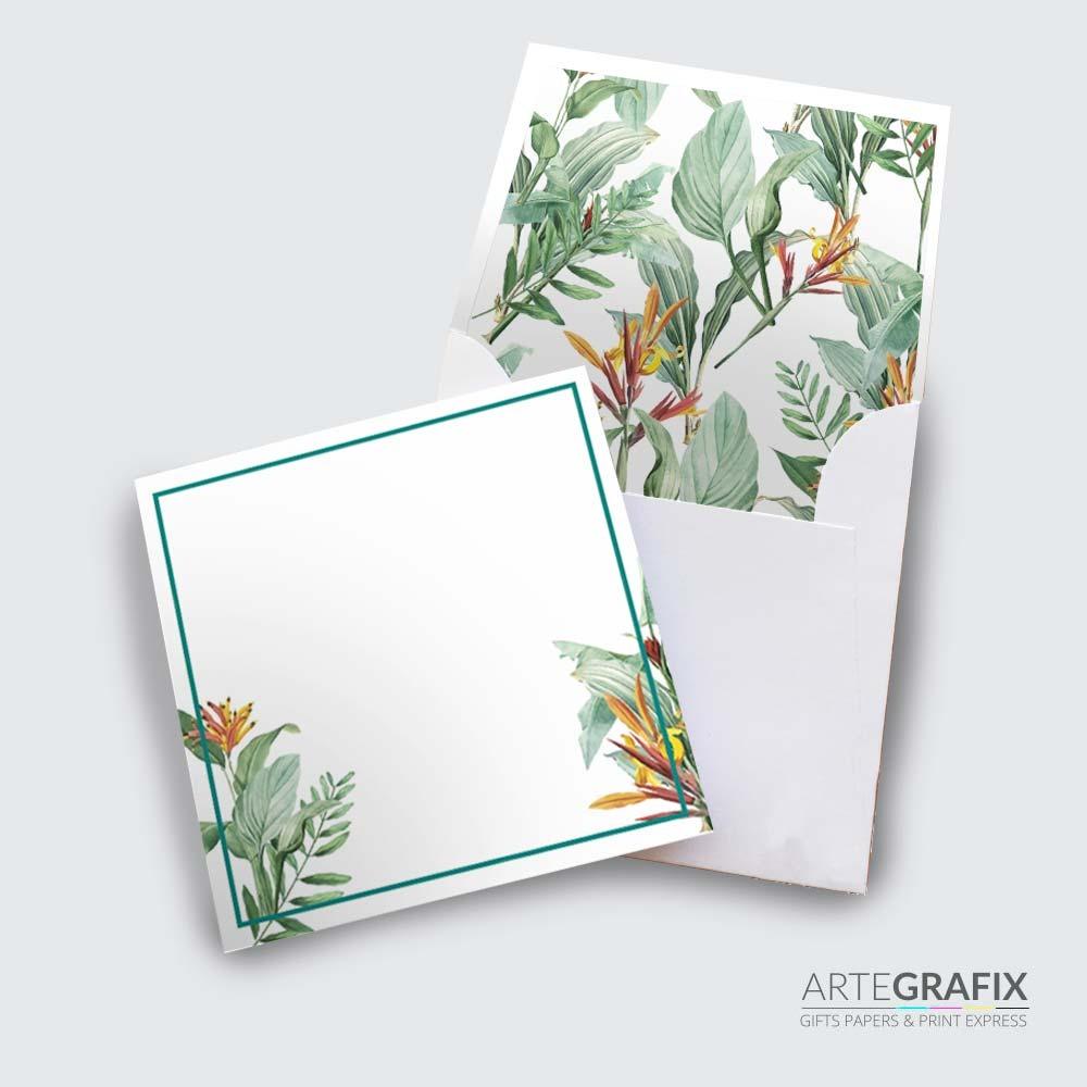Cartão Social Tropical