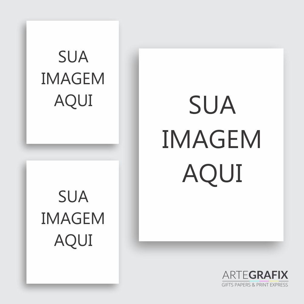 Kit de Impressões Fotográficas Papel Fosco 260 gr